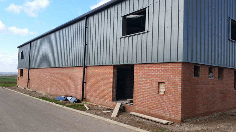 Windows and doors for new industrial units in east bridgford for New windows and doors